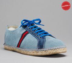 Blue Basket - Espadrille shoe - Men