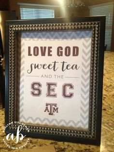 Texas A&M Aggie Football Signs set of 4 Instant Download by ashlynnbiel on Etsy (email hello@ashlynnbiel.com to alter these to your school!) minus the a&m super curlte!