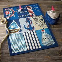 This rug would look awesome in my boys' bedroom.
