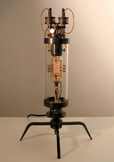 Frank Buchwald's Steampunk Machine Lights Series