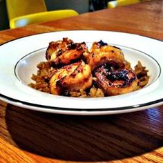 Chef John's New Orleans-Style Barbequed Shrimp - All 5-star reviews. Instead of serving over rice try serving it over a small baked cheese pizza molded into the bottom of a pasta bowl. This is how they do it at Copeland's Cheesecake Bistro. The pizza absorbs all the spices and goodness of BBQ shrimp.