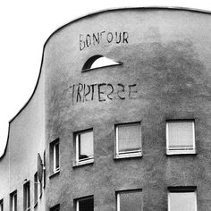 "jmeijide:  ""bonjour tristesse"" . schlesisches tor, kreuzberg, berlin . alvaro siza . 1983"
