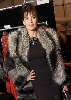 Carol Alt Photos: Dennis Basso - Backstage - Fall 2012 Mercedes-Benz Fashion Week