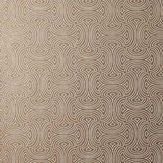 Hourglass Wallpaper in Metallic design by Candice Olson