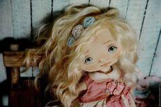 Коллекционные куклы ручной работы. Ярмарка Мастеров - ручная работа. Купить Эмили. Handmade. Розовый, выкройка куклы, подарок