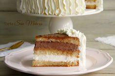 Tarta San Marcos - MisThermorecetas Food N, Food And Drink, Vanilla Cake, French Toast, Bakery, Cheesecake, Cooking, Breakfast, Sweet