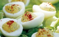 Рецепт диетических фаршированных яиц