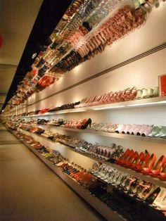 Amazing shoe store in London