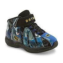 DC Comics Toddler Boy's Batman Black/Blue/Yellow High-Top Athletic Shoes