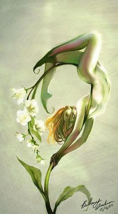 Lily of the Valley Faerie - Dreamscape
