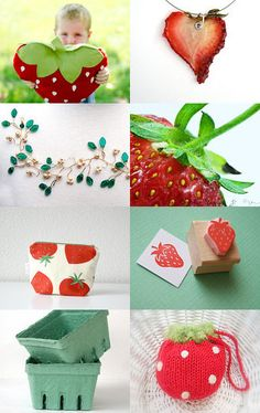 Summer Strawberry Sweet Smiles :) this is so cute