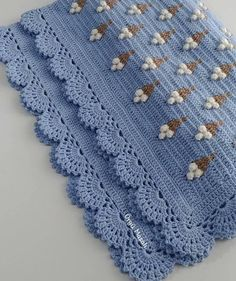 Embroidery for Beginners & Embroidery Stitches & Embroidery Patterns & Embroidery Funny & Machine Embroidery Baby Afghan Crochet, Afghan Crochet Patterns, Crochet Stitches, Embroidery Patterns, Knitting Patterns, Knit Crochet, Embroidered Pillowcases, Beautiful Crochet, Baby Knitting