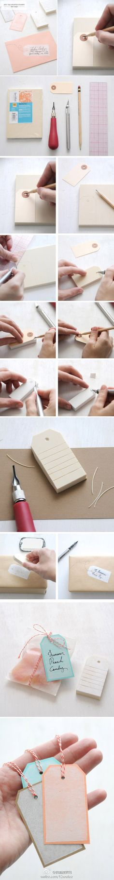 DIY stamp. Awesome!