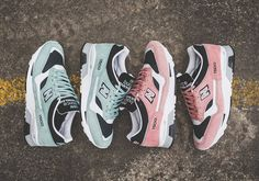 Getting into the spring and Easter spirit, New Balance just dropped the 1500 in two pastel shades. You'll have you choice of minty green or salmon pink premium suede on the Made in England construction of the classic runner, each … Continue reading →