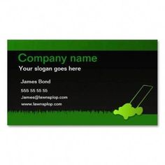 Lawn care business card template | Zazzle.com | 1000 - Modern | 1000 Lawn Care Business Cards, Lawn Maintenance, Nail Shop, Colorful Garden, Company Names, Fashion Week, How To Do Nails, Slogan, Wedding Cards