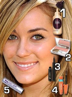 Girl next door like Lauren Conrad (pick up her... / How to Make-up like Lauren Conrad? / Camille Koh on Fuseink