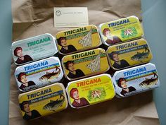 MADE IN PORTUGAL: Tricana preserved fish