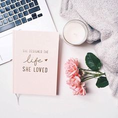 she designed a life she loved quote on book cover and flower flatlay Fall Inspiration, Flat Lay Inspiration, Inspiration Quotes, Layout Inspiration, Fashion Inspiration, Soap Maker, Photo Instagram, Flat Lay Photography Instagram, Food Instagram