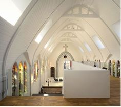 Chapel Converted to Residence by ZECC Architects : TreeHugger