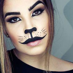 Halloween Makeup 😺😻😼😽🙀 Fiz o passo a passo lá no Snap 😊👻 segue lá (evy.conversani)