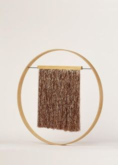 Julie Thevenot Fringe Wall Hanging Copper (copper)