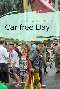 Discover Car Free Day in Jakarta
