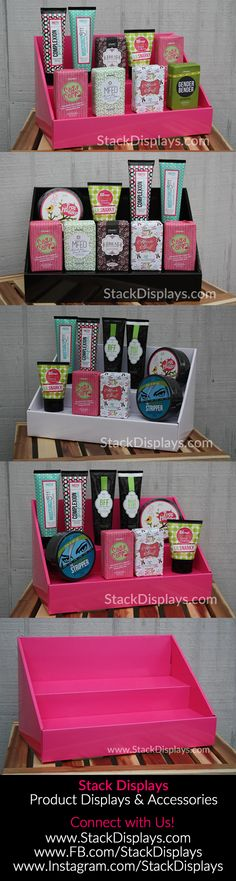 Stack Displays are a great tool for organizing and displaying POSH products…