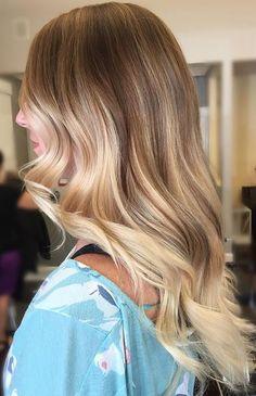 Honey Blonde Color Melt | Hair Color | Hair Colour | Hair Coloring http://tinkiiboutique.com/