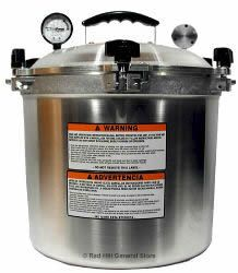 All American Pressure Canner 25 Quart    http://www.pressurecooker-outlet.com/925.htm