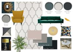 Farrow And Ball Living Room, Living Room Grey, Living Room Modern, Living Room Designs, Living Room Decor, Bedroom Decor, Playroom Color Scheme, Bedroom Color Schemes, Inchyra Blue