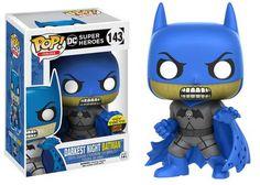 Funko Pop DC Comics - Darkest Night Batman for sale online Batman Figures, Funko Pop Figures, Pop Vinyl Figures, Action Figures, Dc Comics, Funko Exclusives, Funko Pop Batman, Batman Gifts, Batman Collectibles