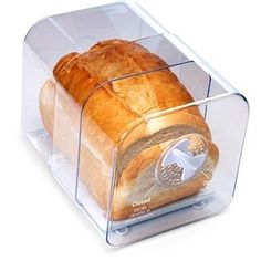 Bags are for Luddites - Luddites who don't mind eating bread that's practically crouton-ed. Don't be like them, use the Bread Keeper. | 39 Futuristic Kitchen Products You Had No Idea You Needed