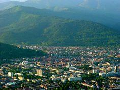 Freiburg Blick Richtung Schwarzwald ~  Of sight Black Forest Freiburg