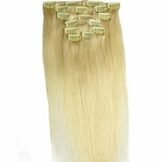 "Angelcoco 100% Indian Remy Clip In Human Hair Extensions Bleach Blonde 15"" 7pcs/set 70g Straight by Angelcoco. $28.00. Clip In Hair Extensions Ready To Be Attached - Clips Included - Add Instant Volume To your Hair-  Wide Range Of Sizes, Colours&Styles. Do It Yourself-Can Be Cut, Curled, Blow Dried And Straightened-Easy To Wash-Lasts For Years With Proper Care. The Highest Quality,The Competitive Price. Why Here Is Your Only Choice,Before You Buy Any Hair Extensions ..."