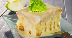 Ένα λαχταριστό κέικ μήλου που θα δώσει στη γεύση σας μεγάλη γλύκα. Ένα τέτοιο κέικ άλλωστε είναι ιδανικό κέρασμα για τους φίλους σας.