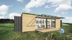 Up-cycling shipping containers to create holiday homes, emergency housing, or other developments. Modular design through container architecture. Container Architecture, Shipping Container Homes, Modular Design, Tiny House, Nice, Container Houses, House Ideas, Storage Container Homes, Tiny Houses