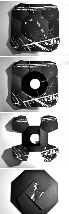 "10"" Vinyl with Origami Sleeve – minimal packaging 