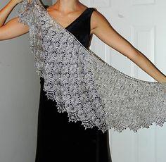 boo knits | sweet dreams shawl pattern.