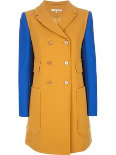 CARVEN Bi-Colour Peacoat