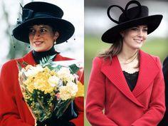 14 vezes em que Kate Middleton se inspirou na Princesa Diana na hora de se vestir