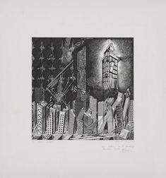 Franco Purini, The Waste Land (La terra desolata), 1984. © Franco Purini. From the Collection of the Alvin Boyarsky Archive. Image Courtesy of Collection of the Alvin Boyarsky Archive