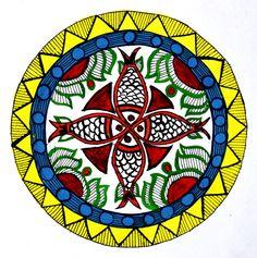 Madhubani painting on Behance