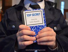 Top Secret Square Label
