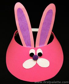A good basic template for an easter hat.
