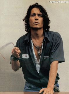 Johnny Depp...MERCY I might have to break vows for that boy....!!!
