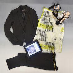 giacca #destiny pantalone #darlene top #leth