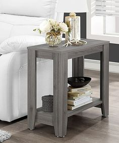 Another great find on #zulily! Gray Accent Table #zulilyfinds