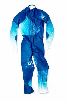 Spyder Men's Nine Ninety Race Suit 2016 - (479) Concept Blue/Electric Blue