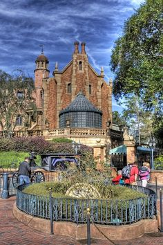 Haunted Mansion - Magic Kingdom  ...and another favorite!  Heck the whole place is my favorite!