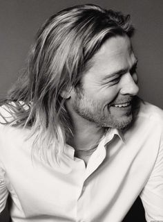 Brad Pitt //  by Max Vadukul, June/July 2013